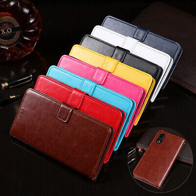Phone Case Magnetic Leather Flip Wallet Card Cover For Meizu 16 16S 15 M6 Note 9
