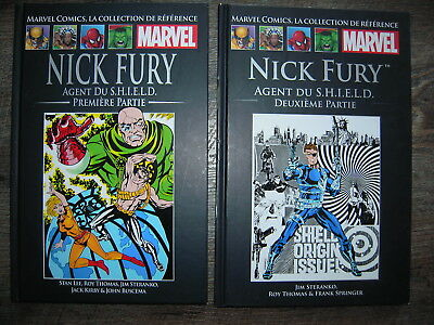 Nick Fury Agent du S.H.I.E.L.D. 1+2 (Hachette, Marvel collection de référence)