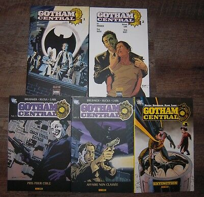 Gotham Central (complet) (Semic, Panini, DC Comics)