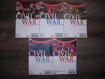 Secret Wars Civil War 1 à 5 (Marvel, Panini Comics)