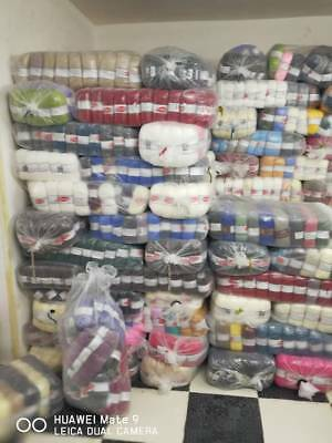new cake yarn & other hand knitting wool / yarn 10kg /100balls mixed JOB lot W64