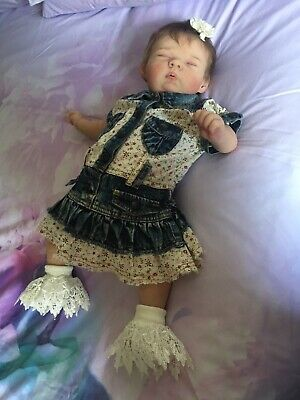 Silicone Baby Caitlyn By Bonnie Seinen Painted By Elliesbabies