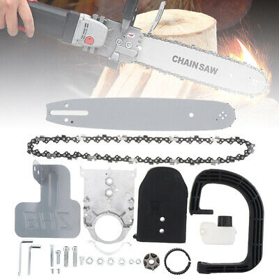 """HOT 11.5"""" Electric Chainsaw Stand Bracket Set Woodworking Cutting Polishing Tool"""