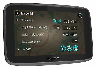 TomTom Go Professional 520 5 Inch EU Traffic Truck Lorry Sat Nav - Warranty