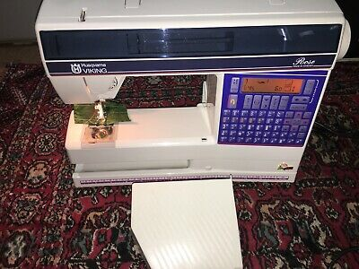 Husqvarna Viking Rose 600 Embroidery Sewing Machine with Lots of Extras!