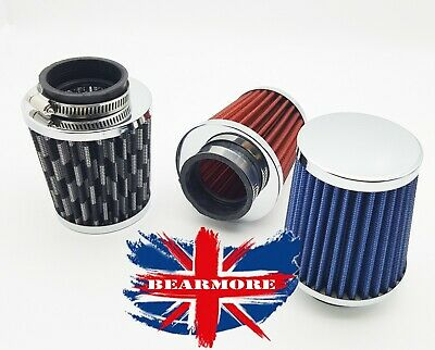 Motorcycle High Flow Cold Air Intake Filter Breather Cleaner Universal 50MM HOSE