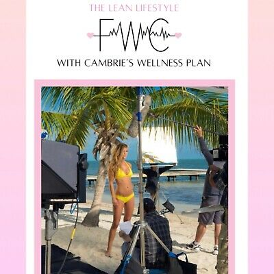 Fit with Cambrie Schroder: Lean Body Lifestyle Meal and Workout Plan 💕💪
