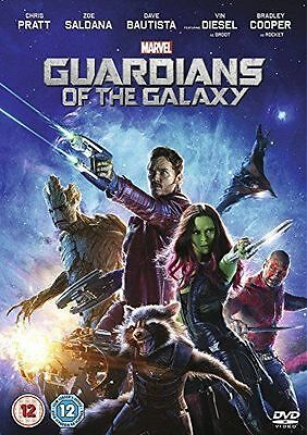 Guardians Of The Galaxy Marvel Genuine R2 Dvd Chris Pratt Bradley Cooper Vgc