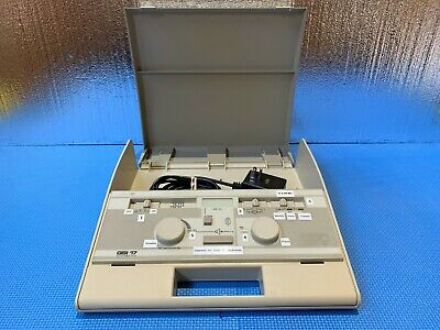 Med-Acoustics GSI 17 Audiometer with Power Supply