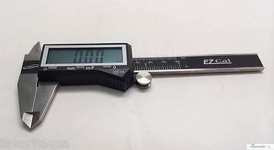 "Igaging 4"" Digital Electronic Caliper X-Large Display Gauge Inch/Fractional"