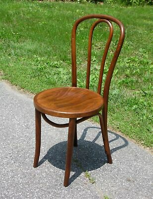 Antique Bentwood Dining Cafe Chair Polish Bentwood Furniture Industry Krakow