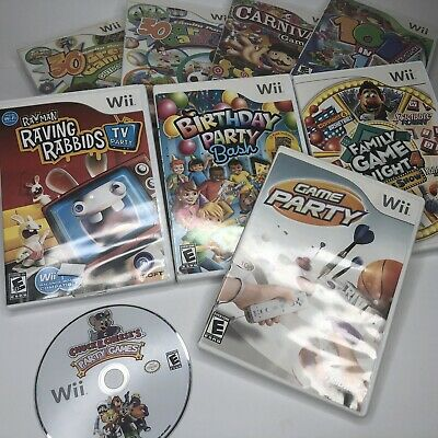 Lot (9) Nintendo Wii Family Game Games! (Game Party, Carnival, Birthday...) #10