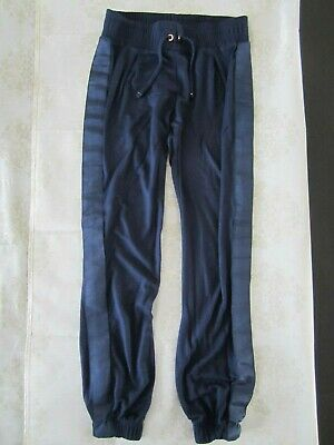 Ted Baker Girls Navy Trousers/Joggers, Age: 9-10yrs