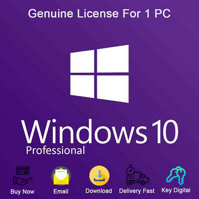 Windows 10 Professional Product Key For Activation 32 and 64 bit Genuine