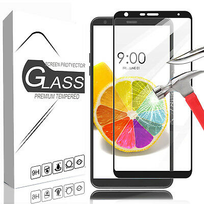 For LG Stylo 4/Stylo 5 2-Pack Full Cover Premium Tempered Glass Screen Protector