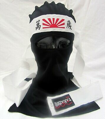 TAKASHI Zorro Ninja Masquerade Mask Shinobi Turtle Ninjas Fancy Dress Costume