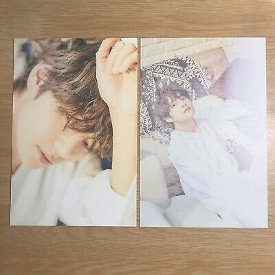 BTS Official Japan Exhibition 24/7=Serendipity V Taehyung Postcard Photocard A B