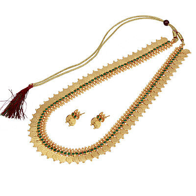 8b67d6eab4c73 GOLD PLATED INDIAN 12'' Long Light weight Ginni Coin Necklace ...