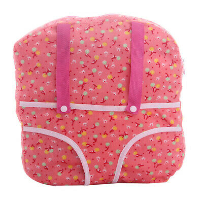 18inch Doll Cherry Kids Backpack Schoolbag Carrier Bag for American Doll Kit