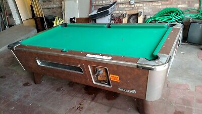 Valley Cougar Bar Size Commercial Pool Table.  Refurbished