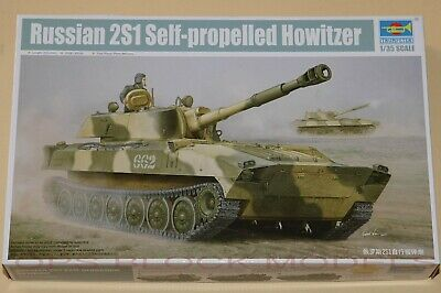 Demo Tank 1//35 Scale Trumpeter Russian 2s1 Self-propelled Howitzer