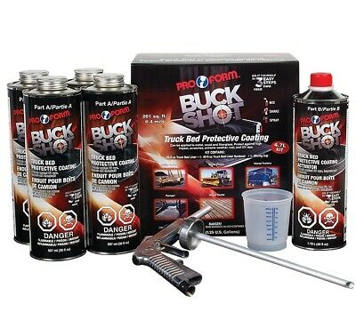 Box Liner Buck Shot (COLOR MATCHED) with Applicator Gun 4.7 Lt (8 Foot box kit)