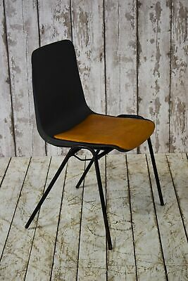 Vintage Industrial Remploy Stacking Cafe Bar Restaurant School Chair (40 Availab