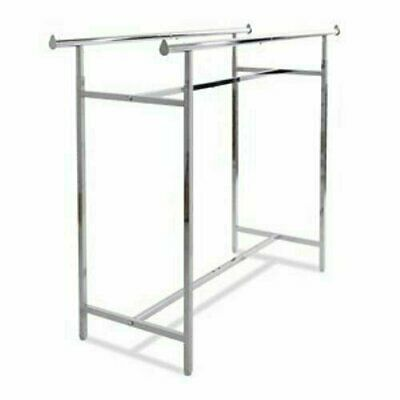 Econoco Double Bar H Clothing Racks #K40, EUC - LOCAL PICKUP ONLY