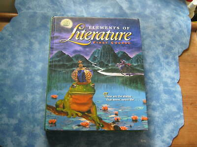 ELEMENTS OF LITERATURE 3rd Course 2000 Grade 9 By Holt