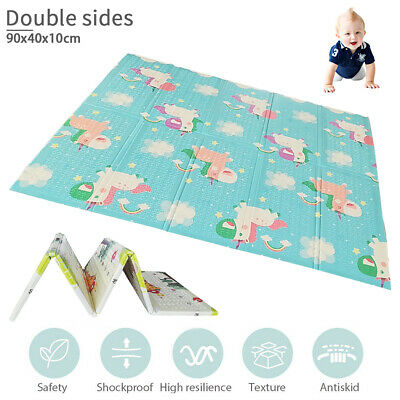 Gym Play Mat Baby Floor Kids Infant Alphabet Double sides Number Rug AU STOCK