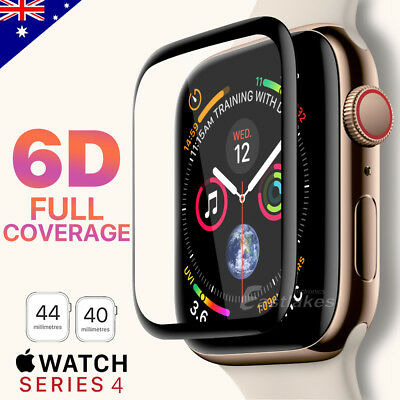 For Apple Watch Series 4 iWatch 40/44mm Clear TPU Screen Protector Case AU