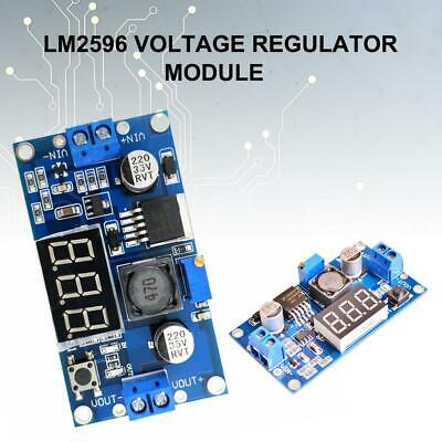 LM2596 Regulated Power Supply Module Transformer With Digital Voltmeter Display