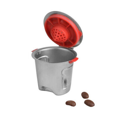 Capsule Cup For Keurig 1.0&2.0 Silver+Red Refillable 0.5OZ Brew Pod Sale Latest