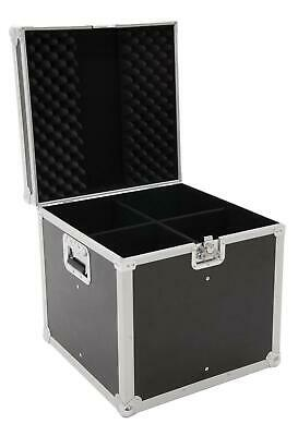 Roadinger Flightcase EP-64 4xPAR-64 Spot lang Scheinwerfer Transport Case Black