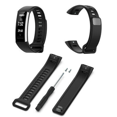 For Huawei Hornor Band 2 pro Replacement Soft Silicone Sport Wrist Band Strap