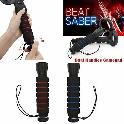 Dual Handles Gamepad Pour Oculus Quest Rift S Controller Playing Beat Saber Game