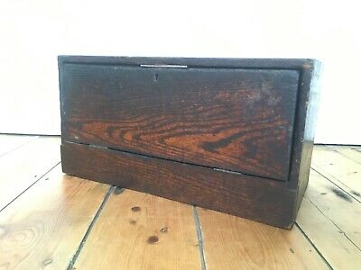 Lovely Old Vintage Engineers / Workshop Toolbox Fantastic Colour