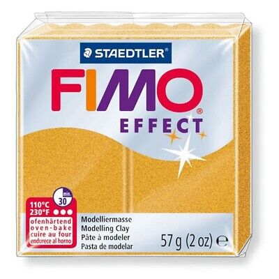 #value! - Fimo Clay Effect Polymer Modelling 57g Staedtler Moulding 56g Soft