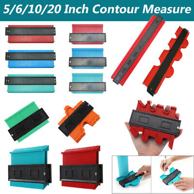 "10"" Shape Contour Duplicator Profile Gauge Tiling Laminate Tiles Edge Shaping"