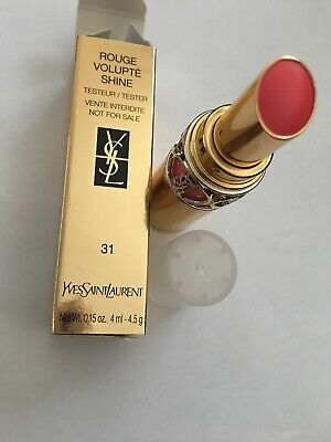 YSL Rouge  Volupte Shine , 31 Rose Innocent, Brand New & Boxed