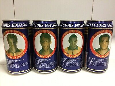 Vintage Schweppes Lot of Lemonade 4 Rugby Union Cans