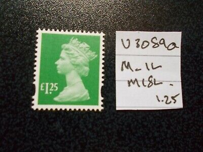 GB 2019~ Security Machin~£1.25p~SG U3089a~M-IL~M18L~~Unmounted Mint~UK Seller