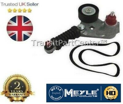 TENSIONER AND BELT FOR FORD TRANSIT MK6 2.0 L DIESEL WITH AIR CON 2000-2006 O.E