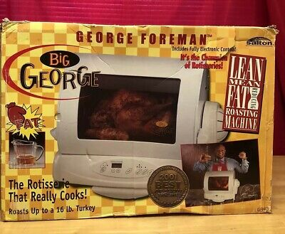 Big George Foreman Rotisserie NEW IN THE BOX!