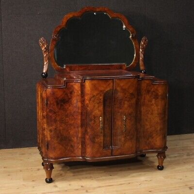 Sideboard Art Deco Nouveau style commode dresser with mirror furniture vintage
