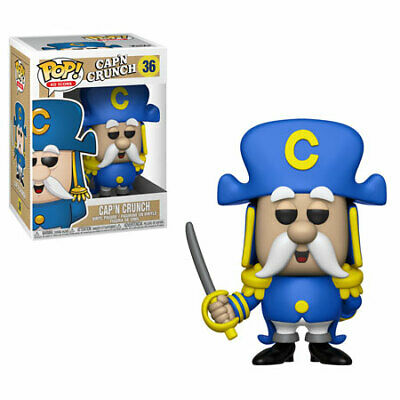 Funko Pop! Ad Icon: Quaker Oats - Captain Crunch w/ Sword Vinyl FIgure