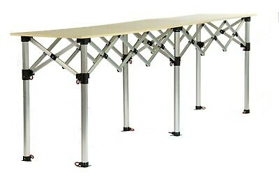 BULHAWK®  MARKET TRADER TABLE for 3M X 3M HEAVY DUTY GAZEBO POP UP STALL COUNTER