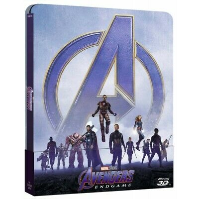 Preorder 4 settembre 2019 - AVENGERS ENDGAME - Steelbook 3D Blu-Ray + 2D