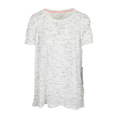 Calvin Klein Performance Womens Gray Cap Sleeves T-shirt Top Calvin Klein Women'