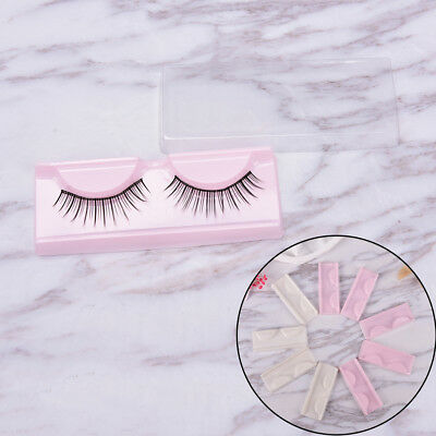 10XEmpty Storage Case Box Container Holder Compartment For False Eyelash Care Gu